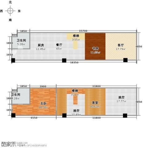美利・国际1室1厅2卫0厨185.00㎡户型图