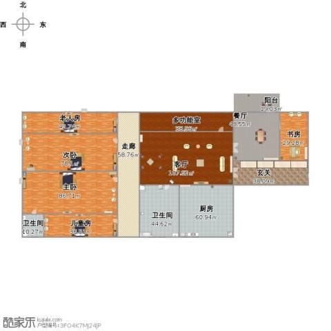 碧水云天5室2厅2卫1厨883.00㎡户型图
