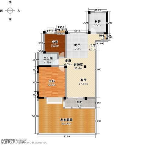 新邦涌金门二期2室0厅1卫1厨153.00㎡户型图