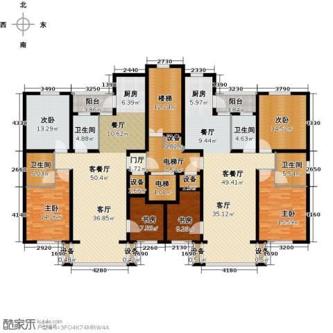 金港湾二期6室2厅4卫0厨334.00㎡户型图