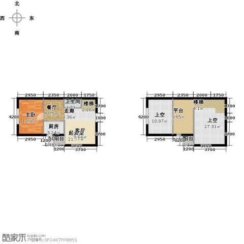大唐世家二期(大唐520)1室0厅1卫1厨84.00㎡户型图
