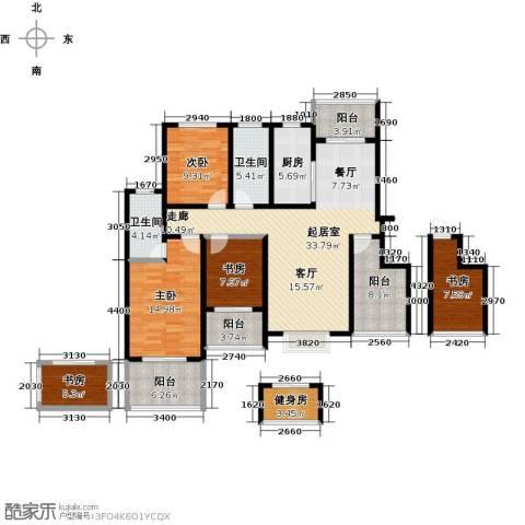 郑东宽景一品5室0厅2卫1厨124.00㎡户型图