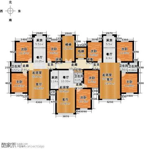 弘域欣源8室0厅3卫3厨252.31㎡户型图