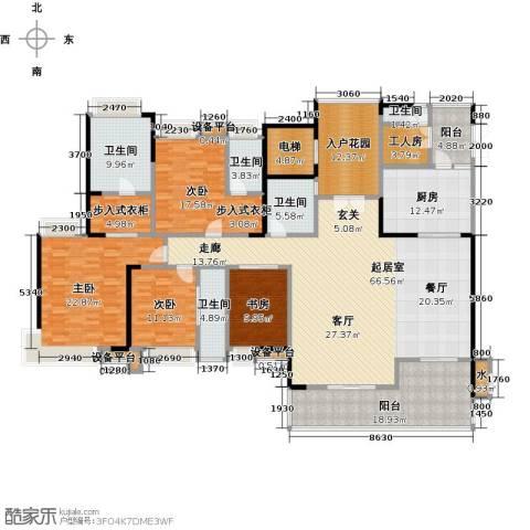 越秀星汇云锦4室0厅5卫1厨247.00㎡户型图