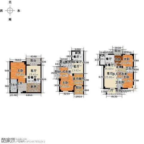 富邦新天地二期5室3厅4卫1厨330.00㎡户型图