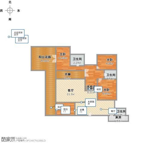 圣莫丽斯4室1厅3卫1厨101.00㎡户型图
