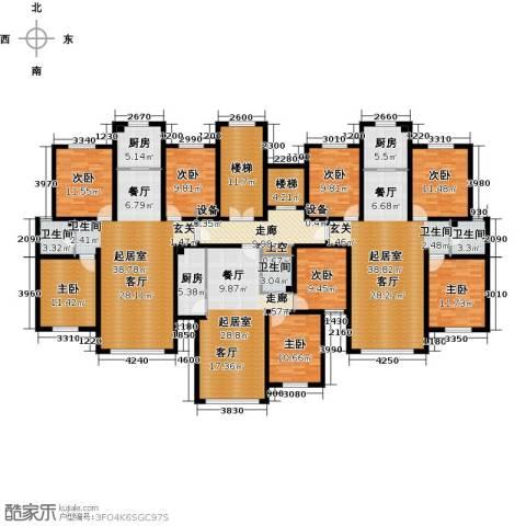弘域欣源8室0厅3卫3厨245.61㎡户型图
