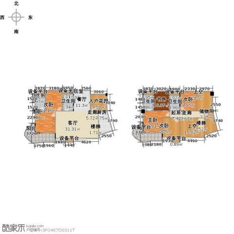 嘉豪公园世家6室0厅4卫1厨241.00㎡户型图