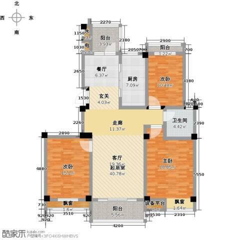 翡翠城3室0厅1卫1厨161.00㎡户型图