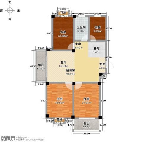 翡翠城4室0厅1卫0厨161.00㎡户型图