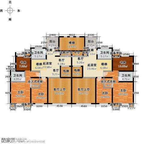 新邦涌金门二期4室0厅4卫0厨255.00㎡户型图