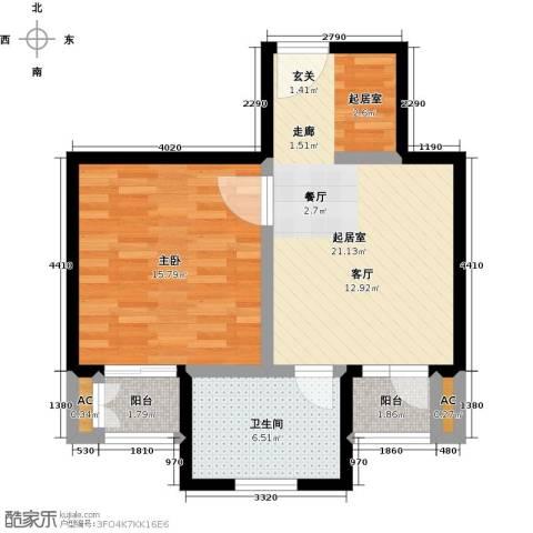 神池龙泉溪1室0厅1卫0厨56.00㎡户型图