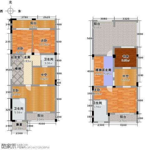 丽江幸福里5室0厅3卫0厨254.00㎡户型图