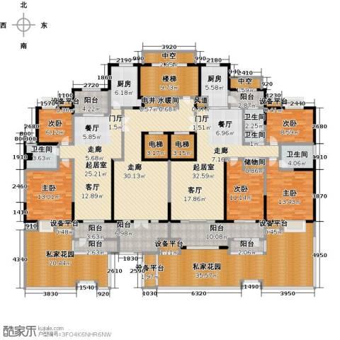 新邦涌金门二期5室0厅4卫2厨279.26㎡户型图