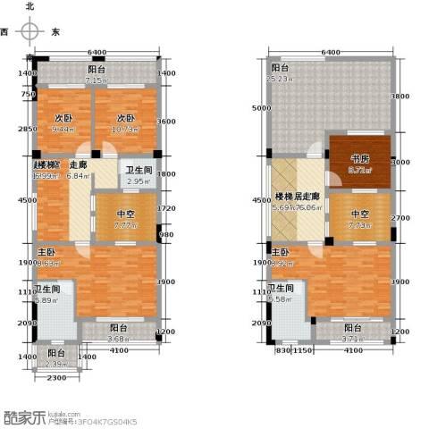 丽江幸福里5室0厅3卫0厨345.00㎡户型图