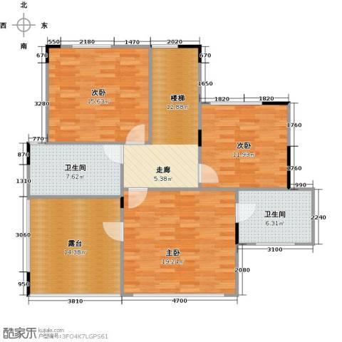 远大生态风景3室0厅2卫0厨118.00㎡户型图