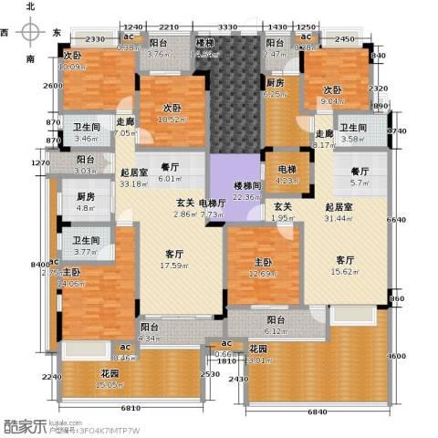 君山公馆5室0厅3卫2厨335.00㎡户型图