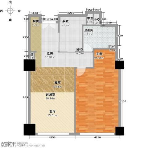 金成建国5号1室0厅1卫0厨88.92㎡户型图