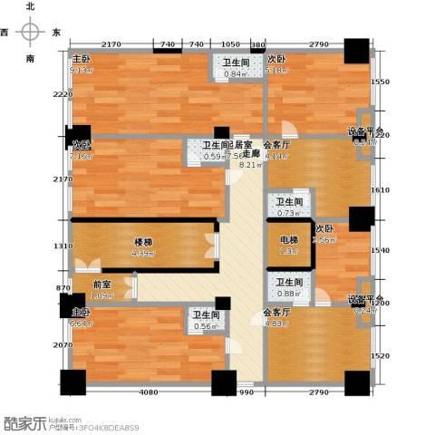 华江.乐天花亭5室0厅5卫0厨85.00㎡户型图