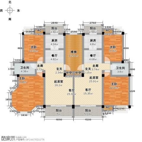 金太阳米兰小镇4室0厅2卫2厨152.97㎡户型图