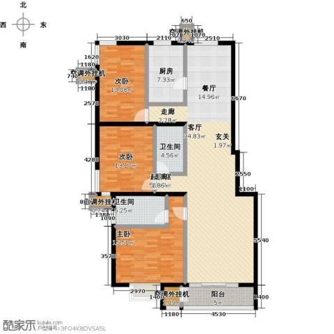 远洋自然3室0厅2卫1厨152.00㎡户型图
