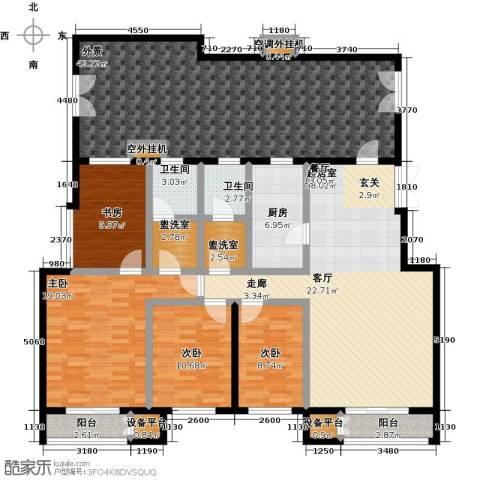 远洋自然4室0厅2卫1厨179.00㎡户型图