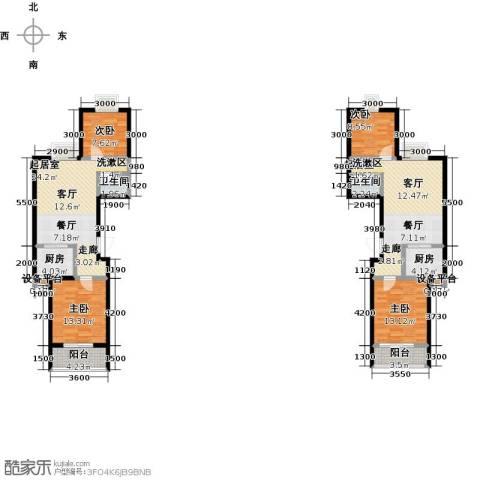 奇星御园4室0厅2卫2厨111.24㎡户型图