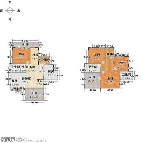 远大生态风景4室0厅4卫1厨281.00㎡户型图