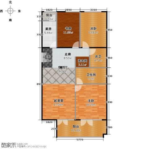 方庄6号3室1厅1卫1厨151.00㎡户型图