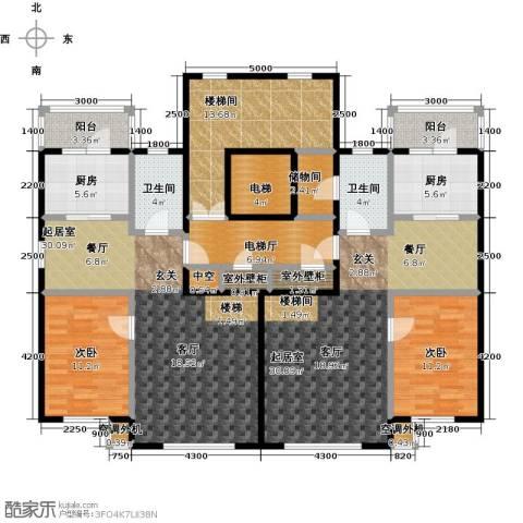 阳光嘉城二期2室0厅2卫2厨139.22㎡户型图