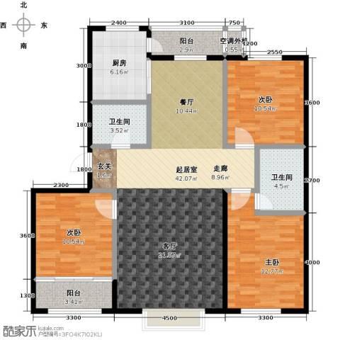 阳光嘉城二期3室0厅2卫1厨130.00㎡户型图