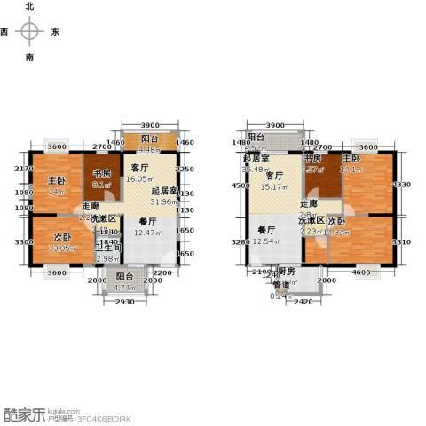 奇星御园6室0厅1卫1厨160.90㎡户型图
