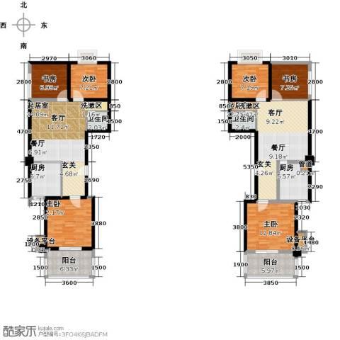 奇星御园6室0厅2卫2厨129.60㎡户型图