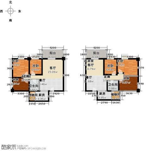 奇星御园6室0厅2卫2厨135.74㎡户型图