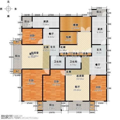 吉利经典4室0厅2卫2厨188.27㎡户型图