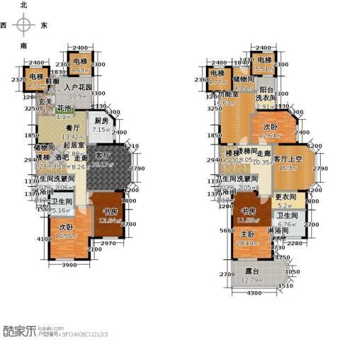 东湖品臻4室0厅4卫1厨356.00㎡户型图
