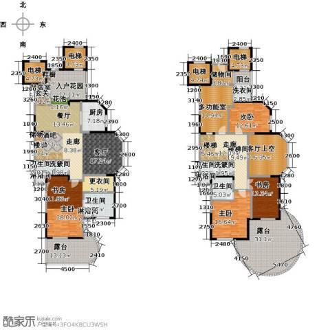 东湖品臻4室0厅4卫1厨398.00㎡户型图