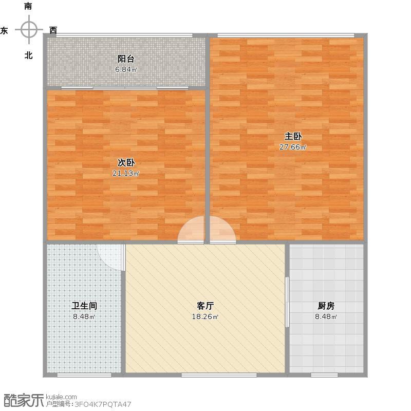 凌云新村的户型图