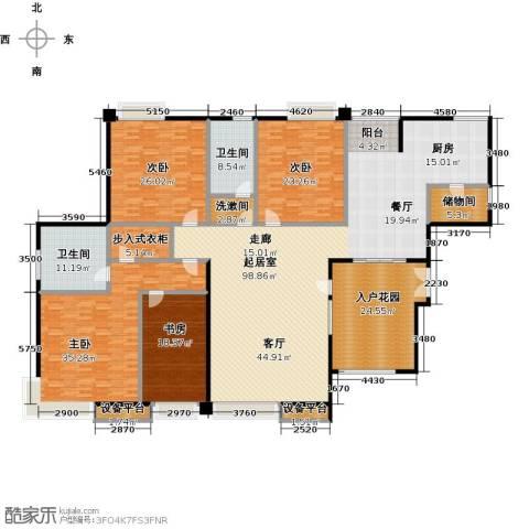 逸都城市岛4室0厅2卫0厨287.00㎡户型图