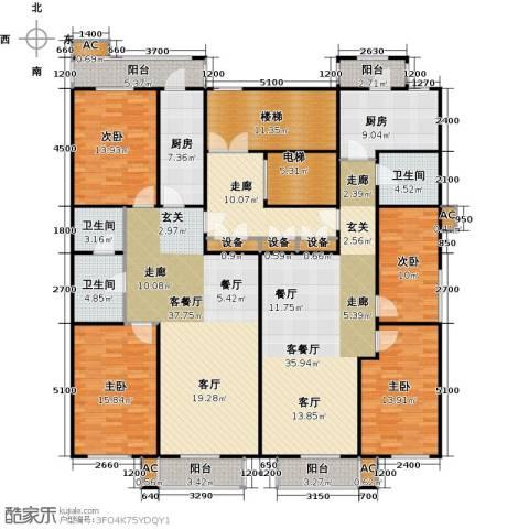 吉利经典4室2厅3卫2厨274.00㎡户型图