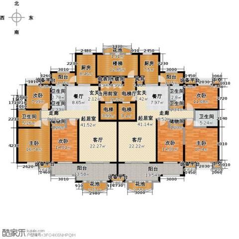 新邦涌金门二期6室0厅6卫2厨280.30㎡户型图
