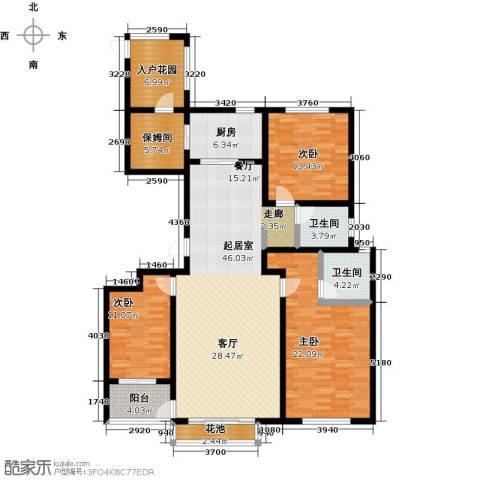 邢台玫瑰镇3室0厅2卫1厨181.00㎡户型图