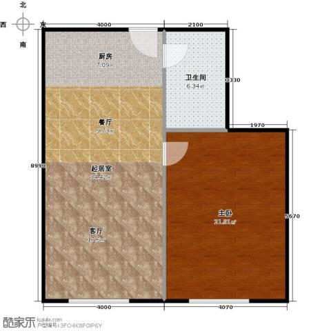 至尊堡1室0厅1卫0厨66.00㎡户型图