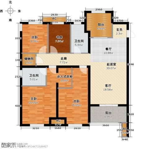 华润・橡树湾4室0厅2卫0厨171.00㎡户型图