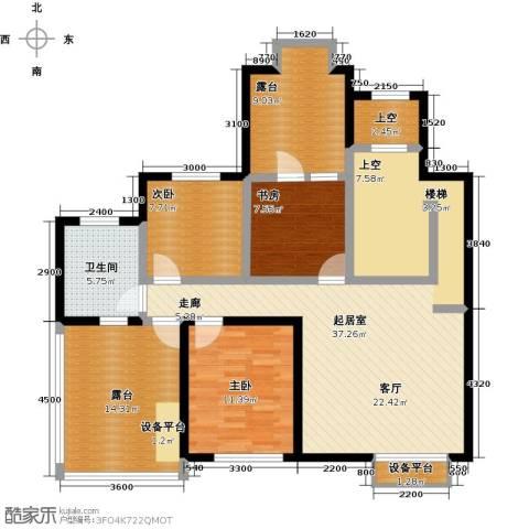 天茂湖三期温莎园3室0厅1卫0厨141.00㎡户型图