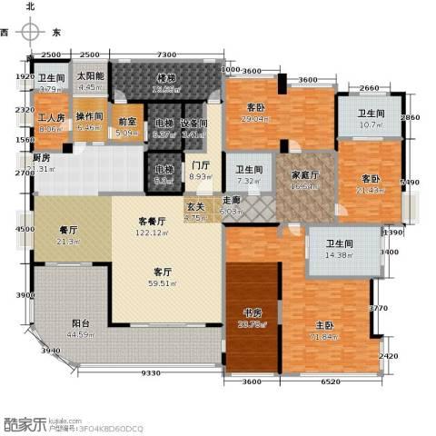 中铁凤凰谷3室1厅4卫0厨389.95㎡户型图