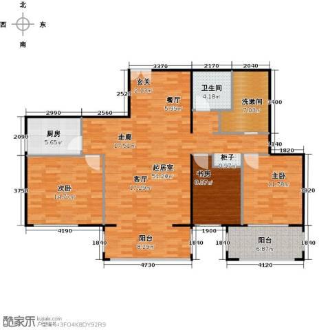 方庄6号3室0厅1卫1厨149.00㎡户型图