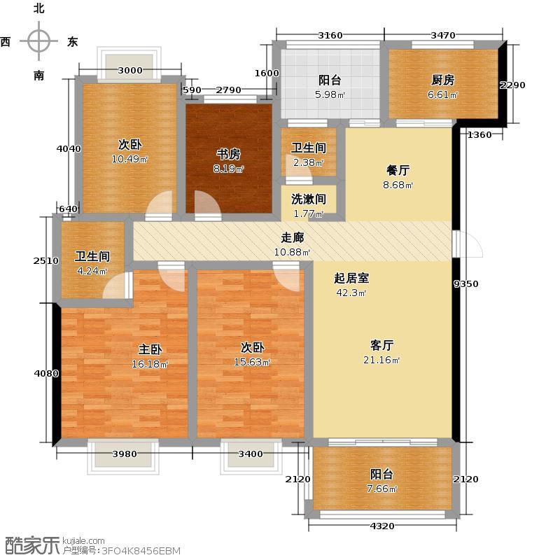 江华・国际农贸港二期G户型4室2厅2卫