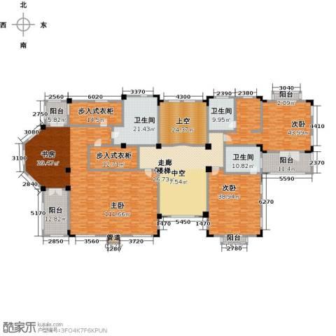 苏州阿卡迪亚3室0厅3卫0厨408.00㎡户型图
