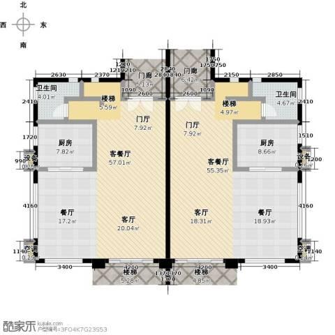 咸宁碧桂园2厅2卫2厨213.00㎡户型图
